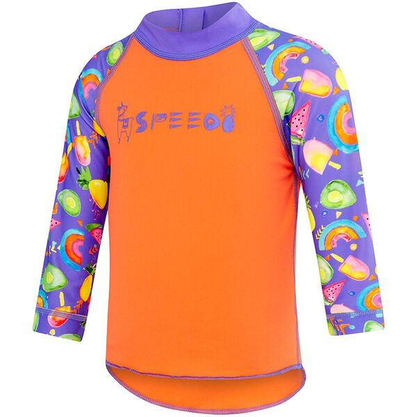 TODDLER BOYS LOGO LONG SLEEVE SUNTOP