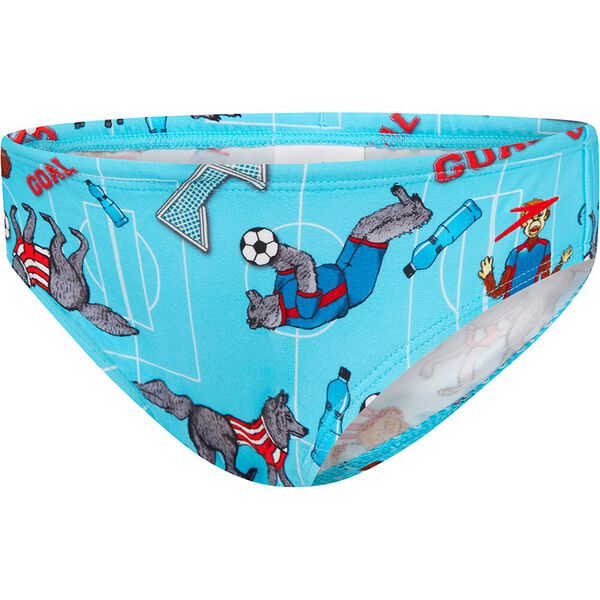 TODDLER BOYS FLAMING DRAGON BRIEF, SPEEDO TEAM, hi-res
