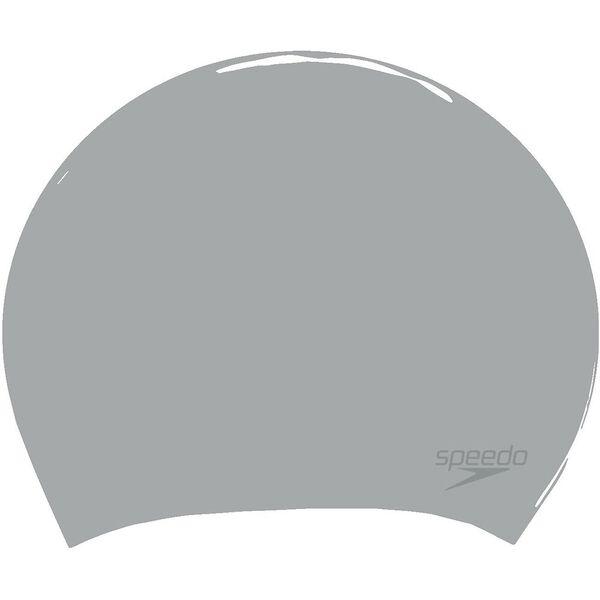 LONG HAIR CAP BRIGHT, METALLIC SILVER, hi-res