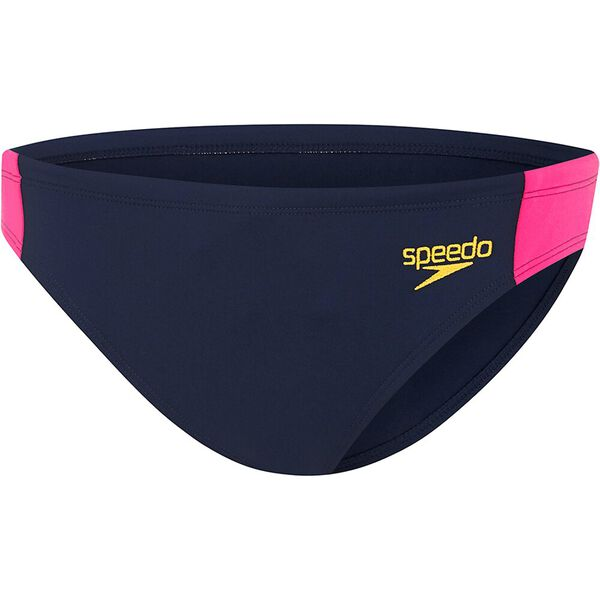 WOMENS ENDURANCE+ BASIC PANT, SPEEDO NAVY/AZALIA, hi-res