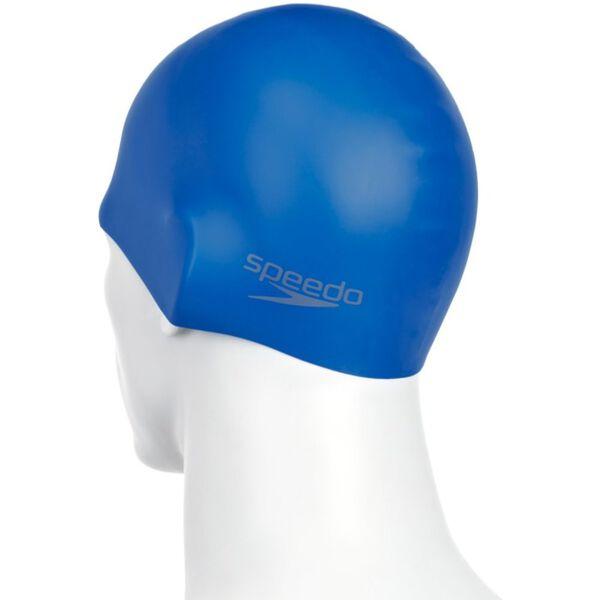 PLAIN MOULDED SILICONE CAP, NEON BLUE, hi-res