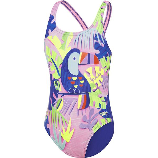 Toddler Girls Toucan One Piece