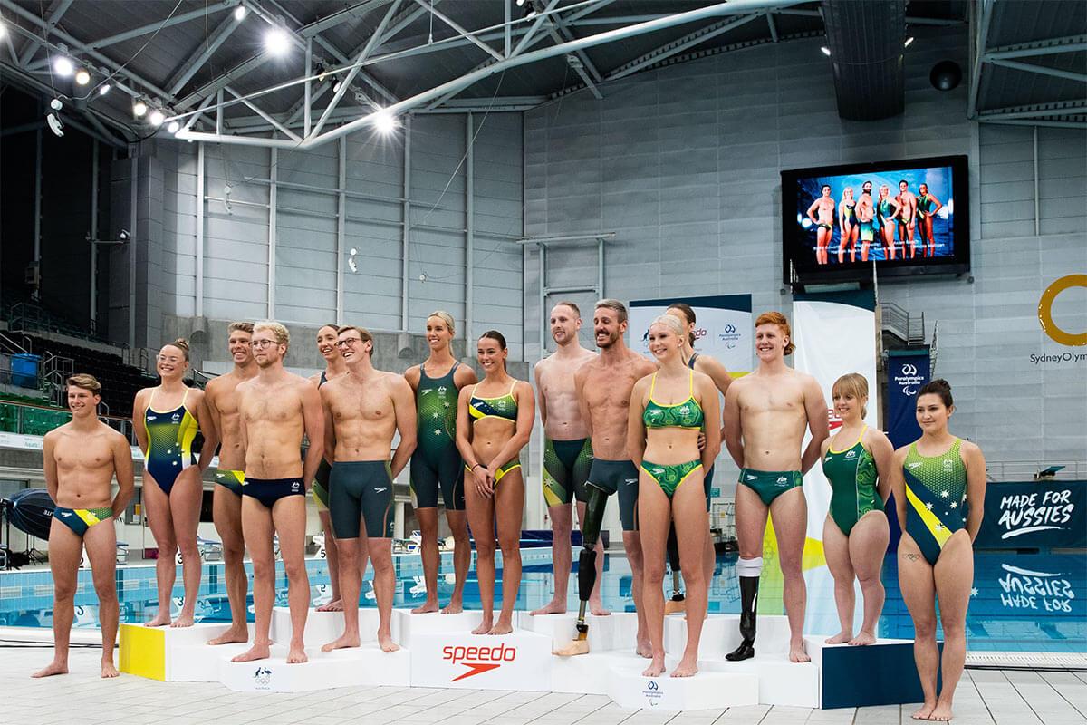 Speedo Olympic Swim Athletes
